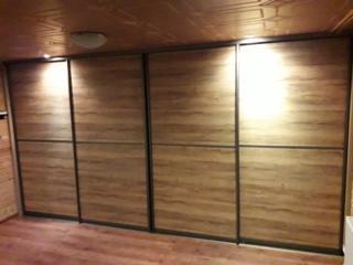 Шкафы-купе на заказ. Любой цвет форма материалы.