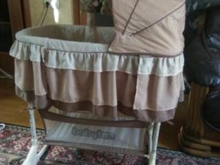Продается кроватка люлька babyton