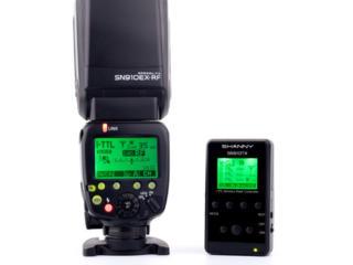 Вспышка Nikon профессиональная Shanny SN910EX-RF (под ремонт)