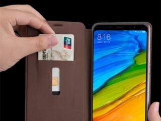 Продам кожаный чехол к телефону Xiaomi redmi note 5