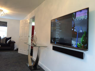 Монтаж телевизоров, навеска ТВ кронштейнов на стену. Монтаж. Опыт.