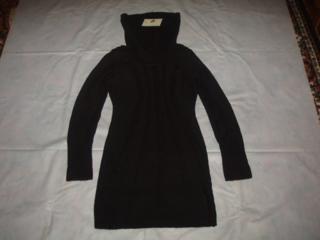 Платье зимнее, вязаное