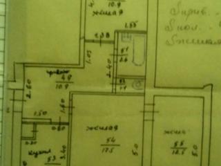 Продается 3-комнатная квартира улучшенной планировки на 4 этаже, общей площадью