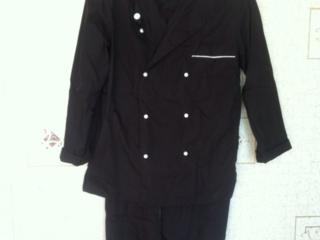 """Новый поварской костюм черный от бренда """"Николь"""" 42 размер"""