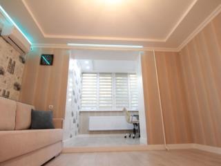 Apartament serie Ceska cu 3 odai cu Incalzire Autonoma in sec. Riscani