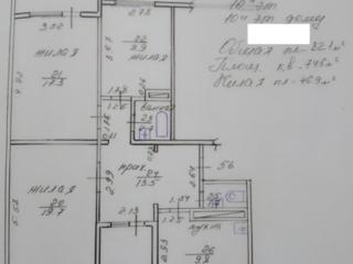 Продам 3 комнатную квартиру по ул Одесская с видовыми окнами - 82,1 кв