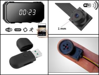 Микрокамеры для скрытой видеосъемки, camere ascunse