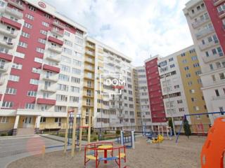 Apartament cu 3 odai+living in bloc nou, euroreparatie, mobilat, auton
