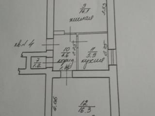 2 комнатная, времянка, подвал 2/2 шатровая крыша. Кировский.