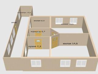 3-комнатный дом на Балке на участке 6 соток