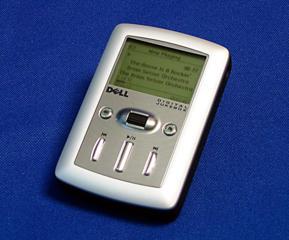 МР-3 плеер Dell digital jukebox 20 Gb на запчасти или восстановление.