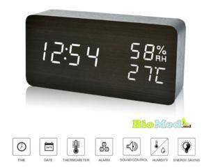 Ceas inteligent cu termohigrometru Умные часы с термогигрометром