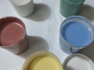 Глазурь керамическая, все цвета. Ангобы цветные, над глазурные краски.