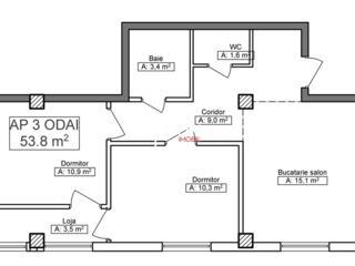 Ciocana - Apartament cu 2 odai!  Bloc Nou!