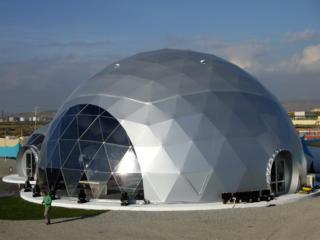 Проектирование и строительство геокупольных конструкций
