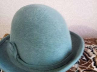 Продам новую фетровую шляпу. Не подошёл размер маловата