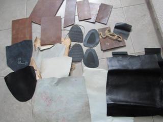 Полный набор кожи на хромовые сапоги