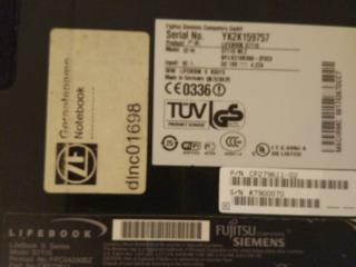 Ноутбук Siemens, в хорошем состоянии, произведен в Германии