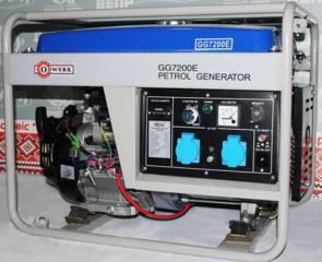 Продам Бензогенератор Odwerk GG 7200 E