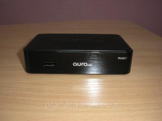 Сетевой медиаплеер Aura HD Plus для ТВ-каналов и фильмов.
