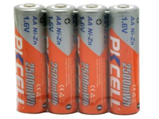 Аккумуляторная батарея PKCELL АА 2500mWh 1.6 В Вольт NiZn ААА 1000. IC