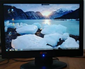 """20"""" LCD(TFT) Yuraku M2aabj black, wide, 1680x1050 (16:10), 300 кд/м2,"""