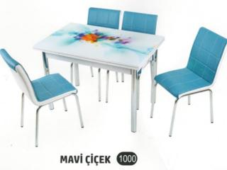 Стол+стулья.