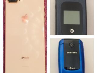 Продам! iPhone8+ Pink/Gold, 64Гб. Samsung A167,ZTEZ222. Цена договорн.