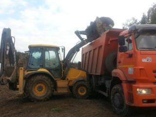 Очистка участков планировка территории выкорчевка деревьев снос домов
