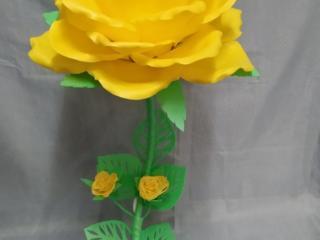 Ростовые цветы-светильники