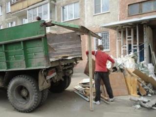 Вывоз вынос мусора ненужных вещей хламa / подъем стройматериалов