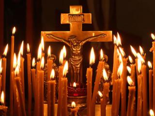 С помощью животворящего креста