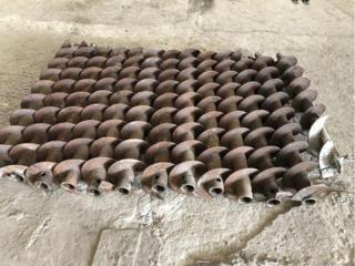 Шнеки буровые диаметром 135 новые длиной 1,5 метра
