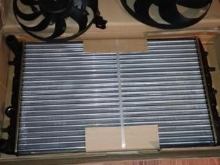 Радиатор с вентиляторами NRF 50542, новый, для SEAT, SKODA, VW