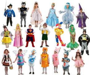 Принимаем на продажу детские карнавальные костюмы и платья