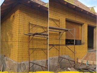Termoizolare cu spumă poliuretanică: fațade, mansarde, acoperișuri...