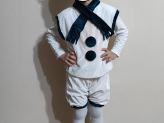 Снеговичок - ПРОКАТ карнавального костюма на возраст - 3-6 лет