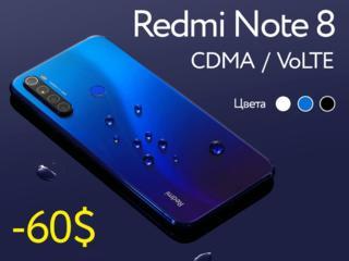 Redmi Note 8 4/64. Абсолютно новый, в упаковке.