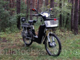 Электробайк грузо-пассажирский тяговый для Glovo доставки.