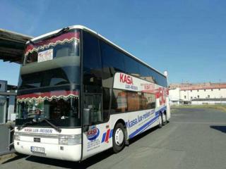 Регулярні автобусні рейси до Європи.