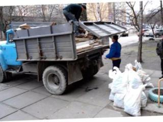 Вывоз мусора. Грузчики.