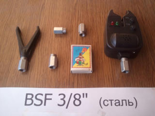 Рыбацкая гайка, болт для Род Пода BSF 3/8 дюйма (для вкручивания сигна
