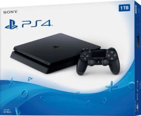 PlayStation 4 Slim 1TB. Новый. Запечатанный/Игры/Джойстик