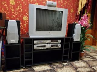 Technics SC-DV290 + мебель для него и Телевизор SAMSUNG 72см диагональ