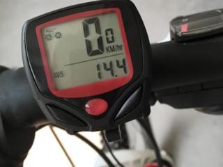 Велокомпьютер проводной SB-318 спидометр, часы, одометр.