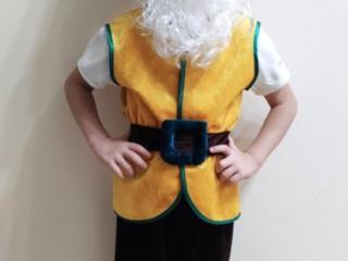 Снеговичок и Гномик - ПРОКАТ карнавал-х костюмов на возраст - 3-6 лет