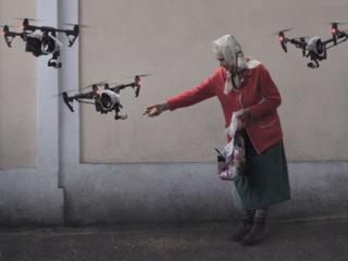 Аэросъемка с квадрокоптера (с дрона)