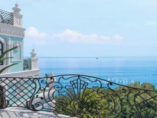 УЮТНАЯ трешка с ОТДЕЛКОЙ, террасой 23 м. + 2 балкона с видом на море