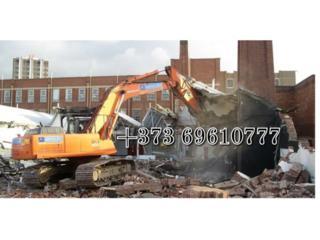 Бельцы! Снос демонтаж разборка домов! Строений зданий очистка участков