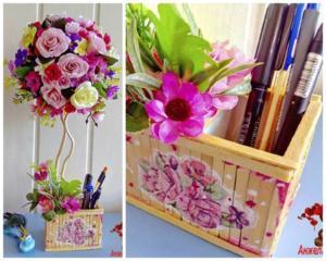 Оригинальные подарки! Цветочные и кофейные топиарии и композиции